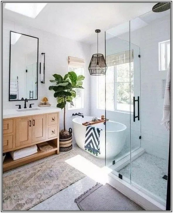 130 Excellent Bathroom Design Ideas You Should Have 33 Mantulgan Me Bathroom Interior Design House Bathroom Bathroom Interior
