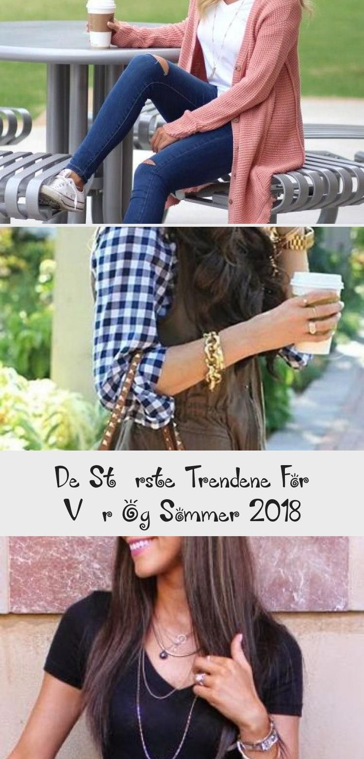 Photo of De største trendene for vår og sommer 2018 #trendene #mote #30+beautifulspring…