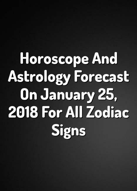 virgo horoscope january 25