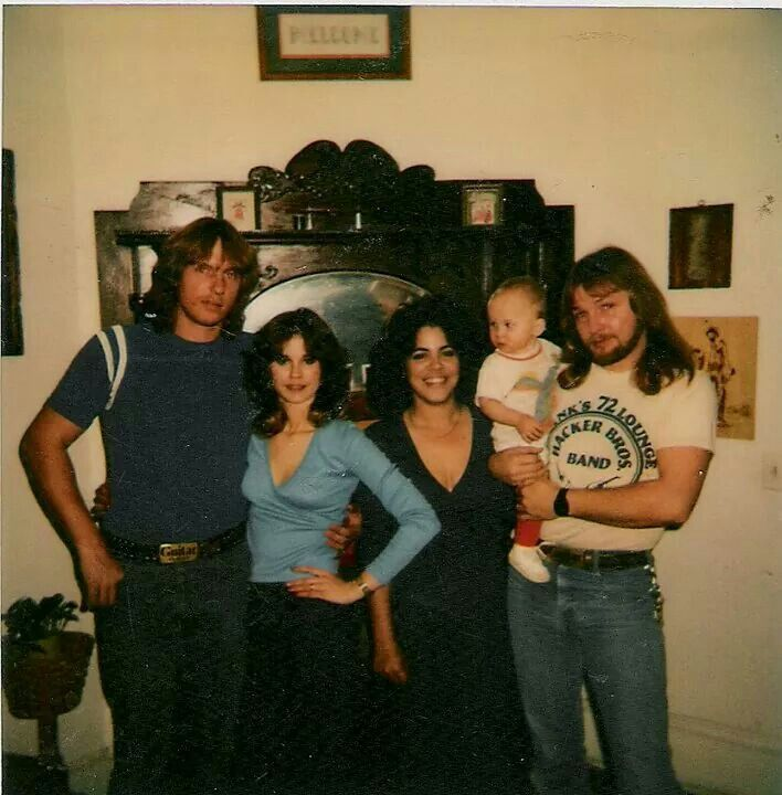 Bobby and Dot Sharpe, me, Crystal Cherie and Freddy Lynch