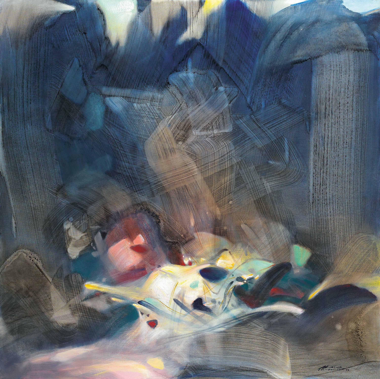 Chu Teh Chun Zhu Dequn France China 1920 2014 Stability Price Realised Hkd 13 325 000 Estimate Hkd 7 000 000 Painting Workshop National Art Museum Artist