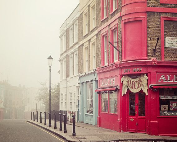 London Photograph Notting Hill Travel by EyePoetryPhotography, $30.00