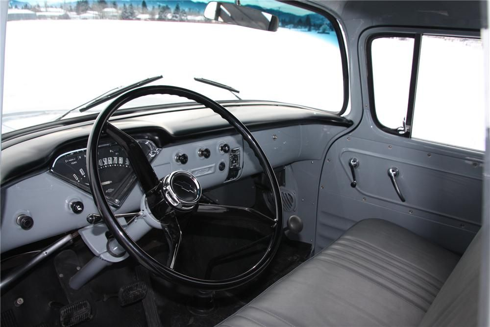 1958 Chevrolet Apache 3100 Pickup Interior 139254 Chevrolet