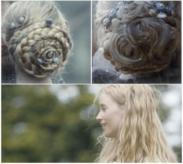 Cecilia Algotsdotter's hair in Arn: The Knight Templar
