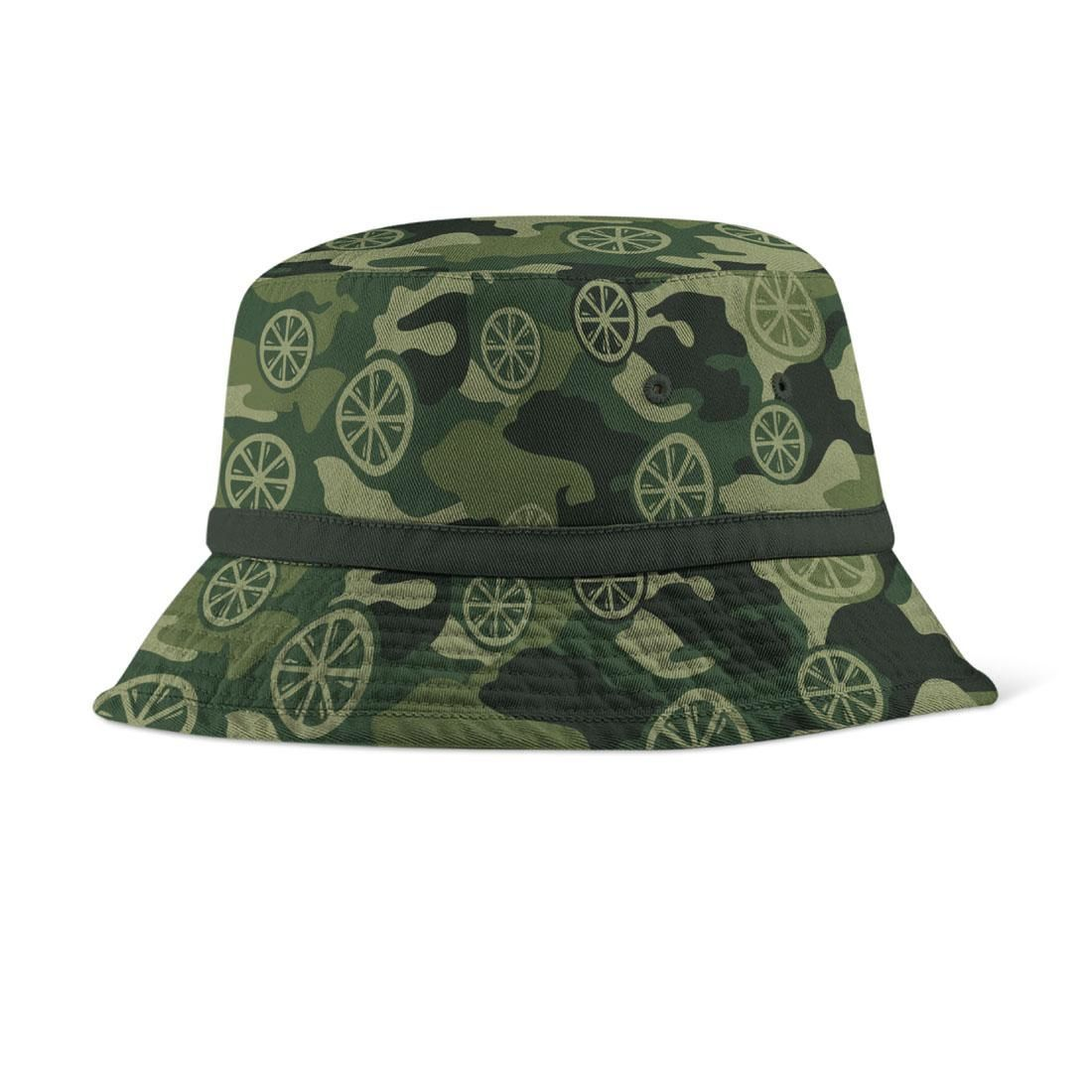 The Stone Roses  Lemon Camo Bucket Hat  9731cf2ff7e