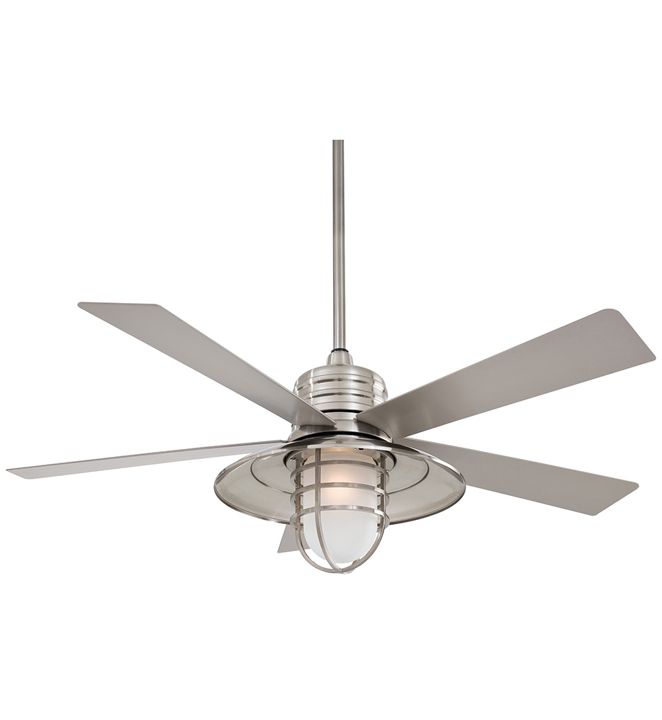 MinkaAire Rainman Indoor/Outdoor Ceiling Fan with 54