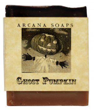 Ghost Pumpkin Soap