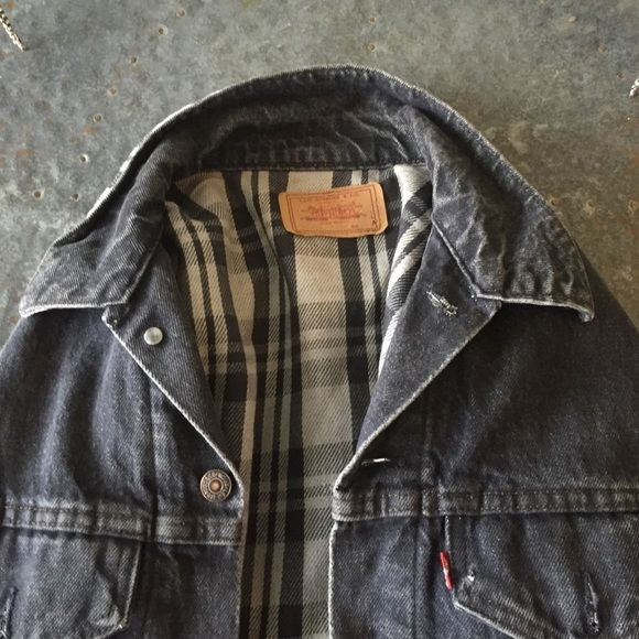 Vintage Gray Denim Levi's Jacket Vintage Gray Denim Levi's Jacket Levi's Jackets & Coats