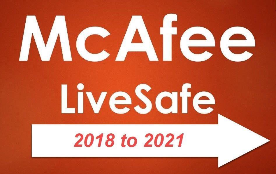 Details about McAfee LiveSafe 2018 Internet Security