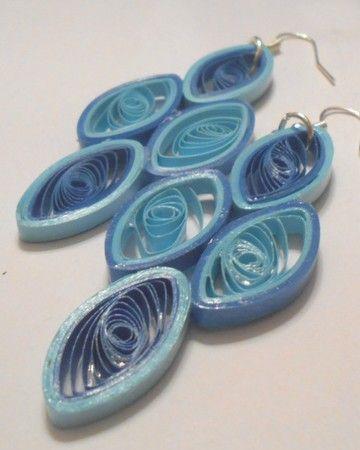Rhea's Originals - Pictures - Blue Earrings