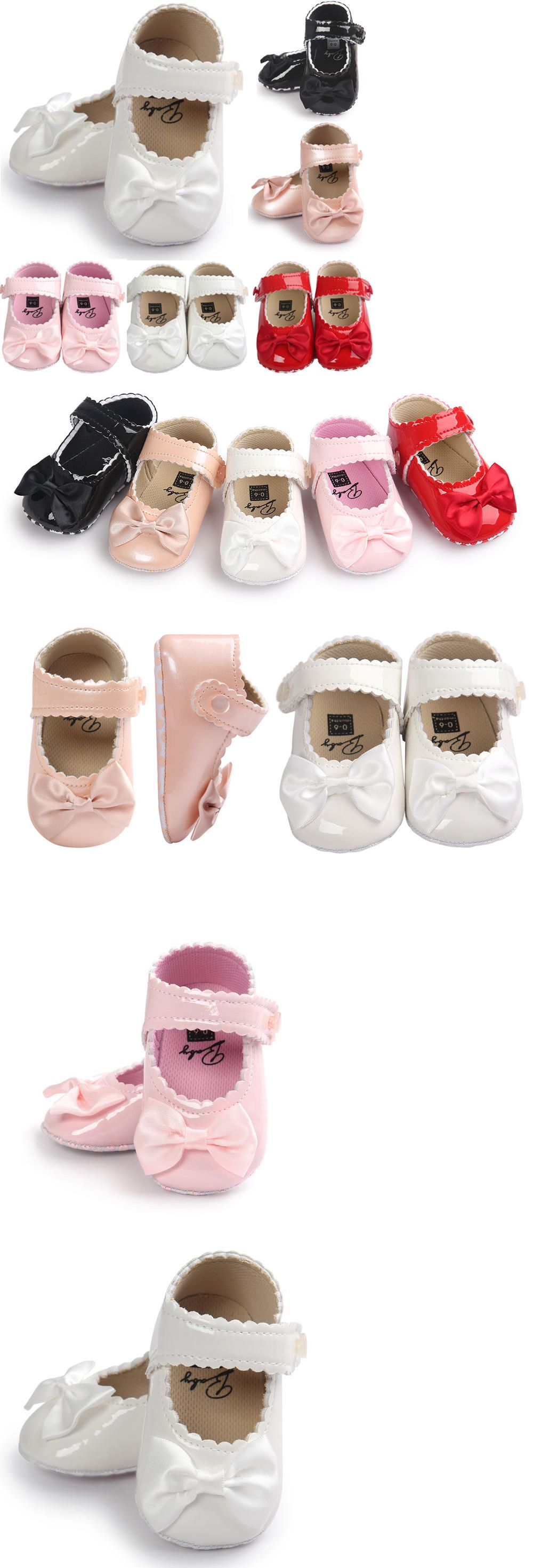 Used crib for sale ebay - Baby Girls Shoes Newborn Baby Girls Bow Anti Slip Leather Crib Shoes Soft Sole