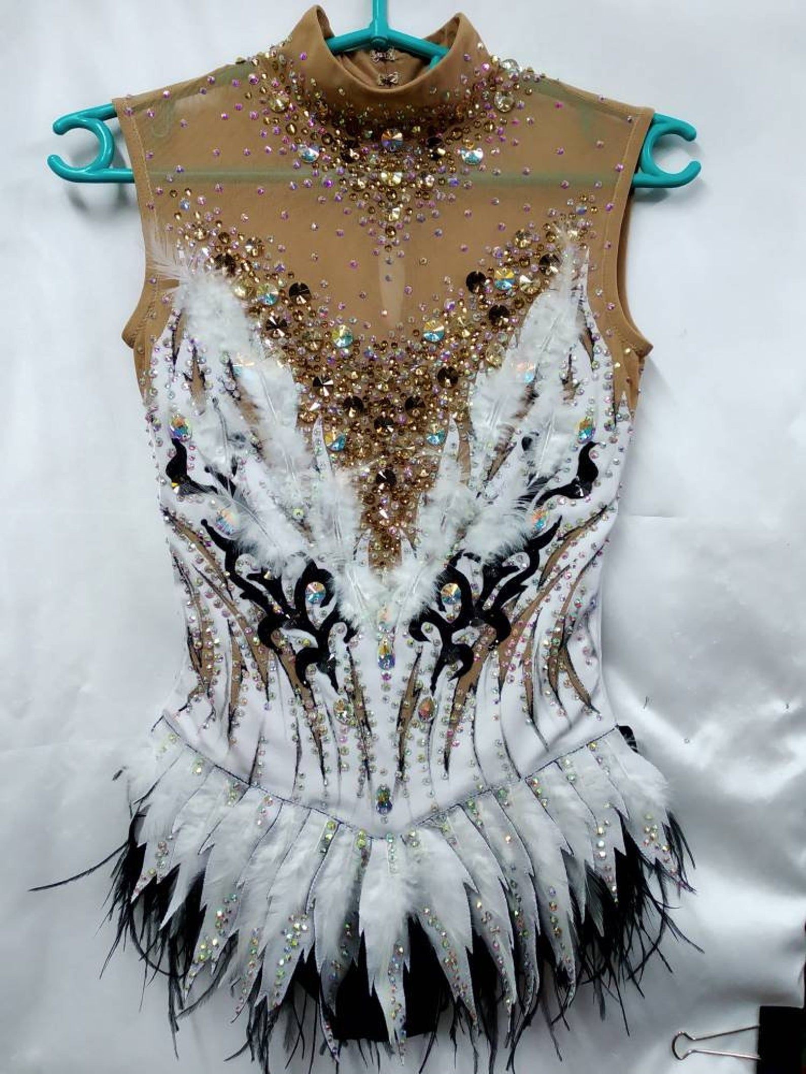 Ice figure skating  Rhythmic gymnastic leotard  Rhytmics gymnastics leotard  RG leotard to order  ballroom dress