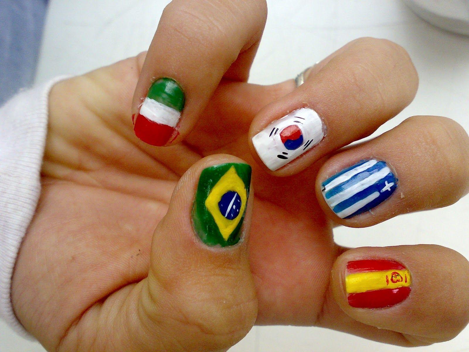Multi Country Nail Design Httpeasynaildesignsmulti Country