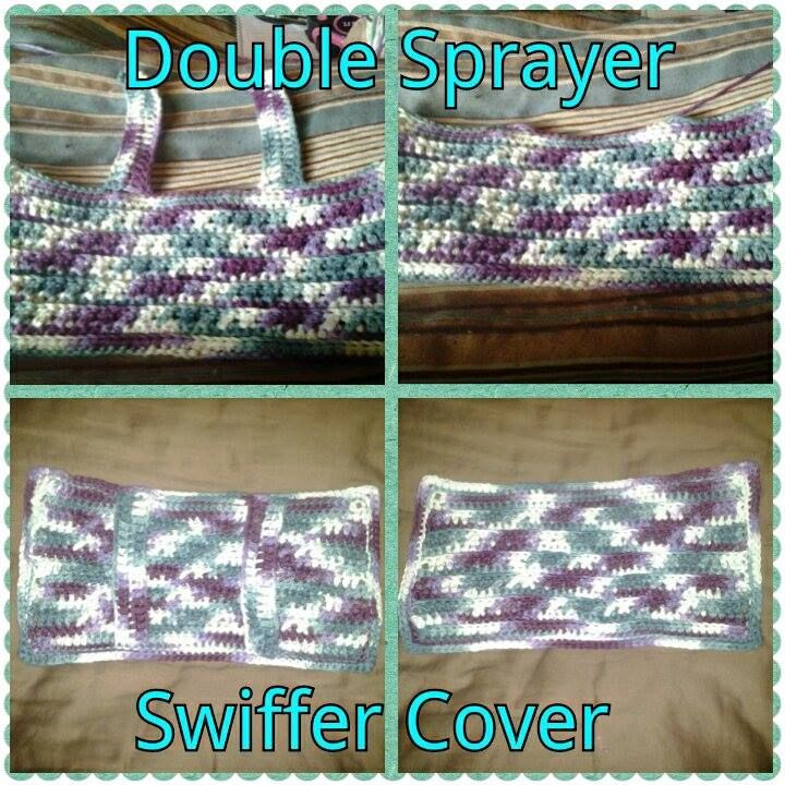 Double Sprayer Swiffer Wet Jet Cover Crafted By Karen Jernigan I