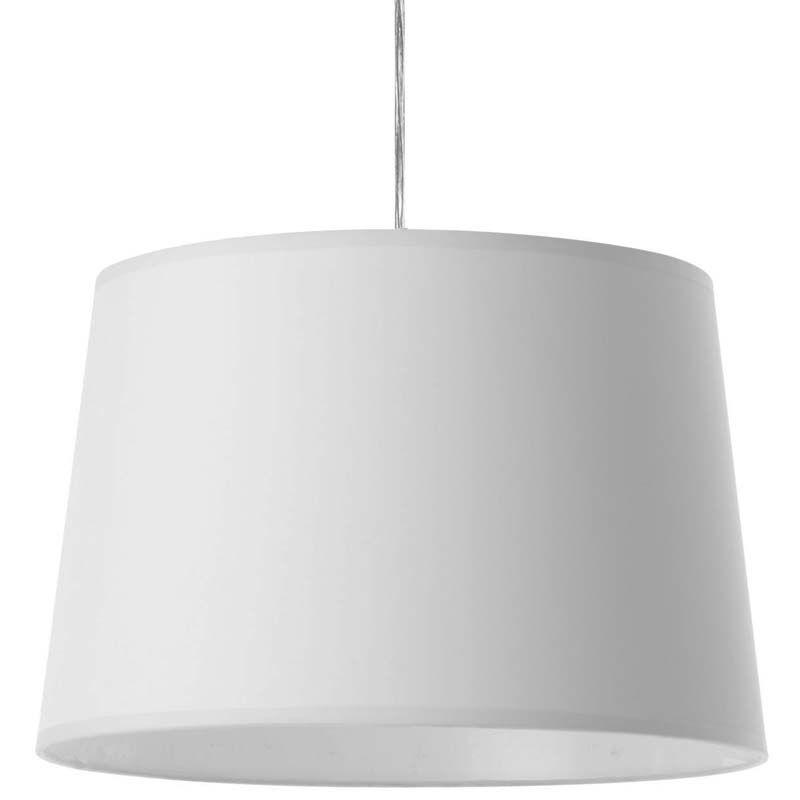 Suspension de plafond classique blanche UMA. Luminaire de chambre aux lignes très actuelles