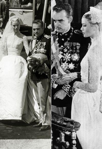 Grace Kelly marries Prince of Monaco