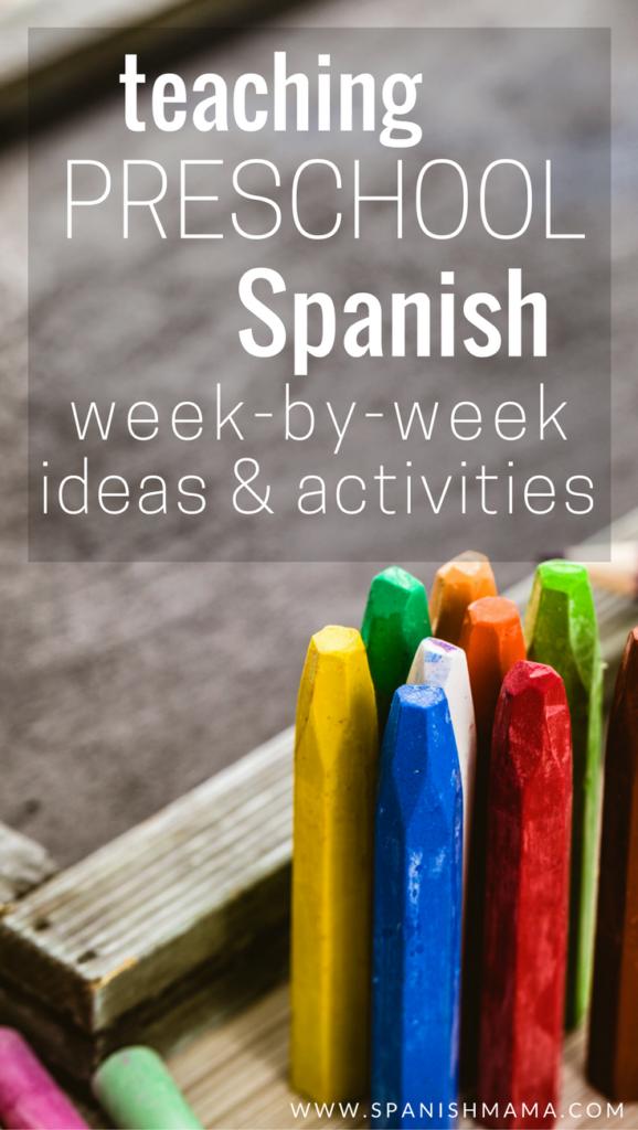 Preschool Spanish