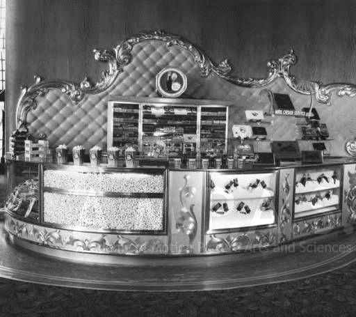 Concession Stand For Theater Room With Images: Concession Stand, Academy Theatre, Inglewood, California