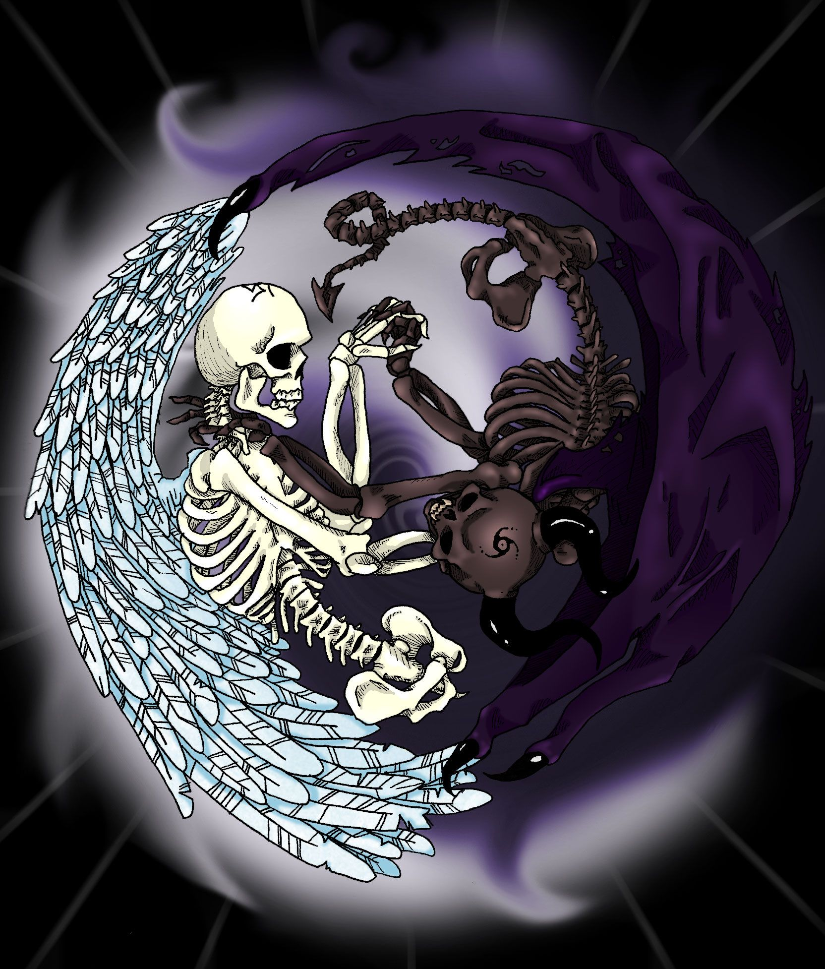 Good Vs Evil Symbols