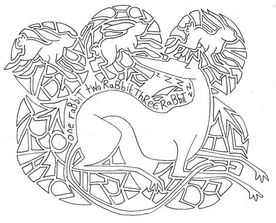 Paint My Greyhound Colouring Pages Digital Copy Coloring Pages