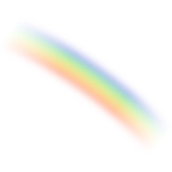 Rainbow Liked On Polyvore Featuring Rainbow Effects Sky