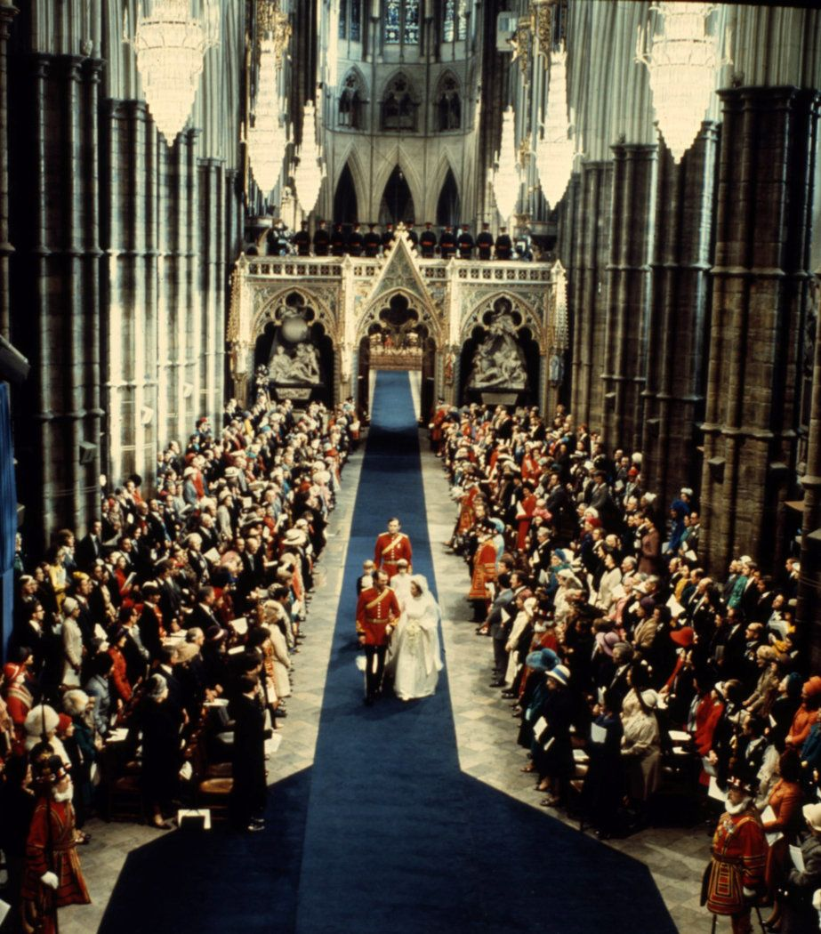 Princess Anne, married westminster abbey