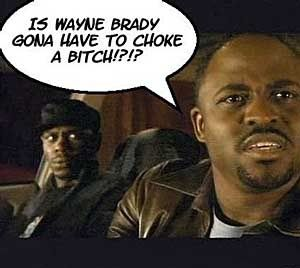 Any time someone doesn't do what I want this phrase is coming out of my mouth from now on. Wayne Brady. Boss.