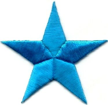 Image is loading embroidered-Iron-on-sew-on-star-applique-patch-