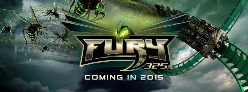 AMUSEMENT ATTRACTION! 2015! Fury 325 POV HD Carowinds Roller