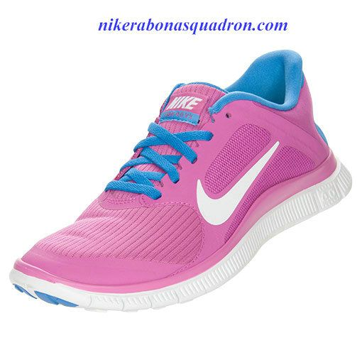 cbcbb57d4566 Nike Free 4.0 V3 Womens Club Pink White Distance Blue 580406 601 ...