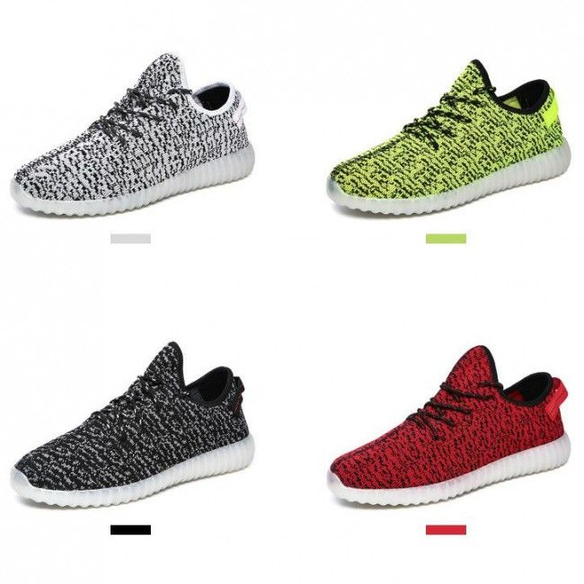 Men s Yeezy Boost LED Light Up Shoes For Adults  8c46b5bc8a