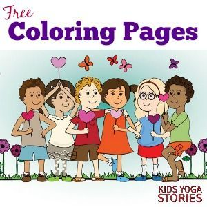Coloring Pages for Kids  Yoga