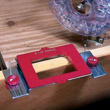 Door And Hinge Mortise Kit Router Jig Door Installation Router