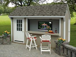 Bridgeport Bar Pool Shed Backyard Sheds Outdoor Building
