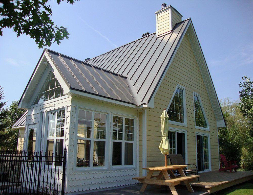 Ideal Roofing Raised Ridge Residential Steel Roofing Steel Roofing Modern Roofing