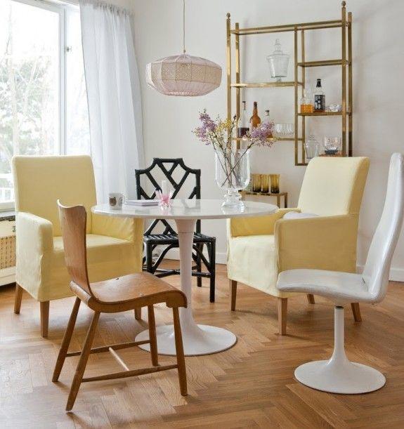 Bei Bemz wird die Farbe des Jahres von Vanilla Yellow. #homestory #home #interior #couch #furniture #designer #ikea #individuell