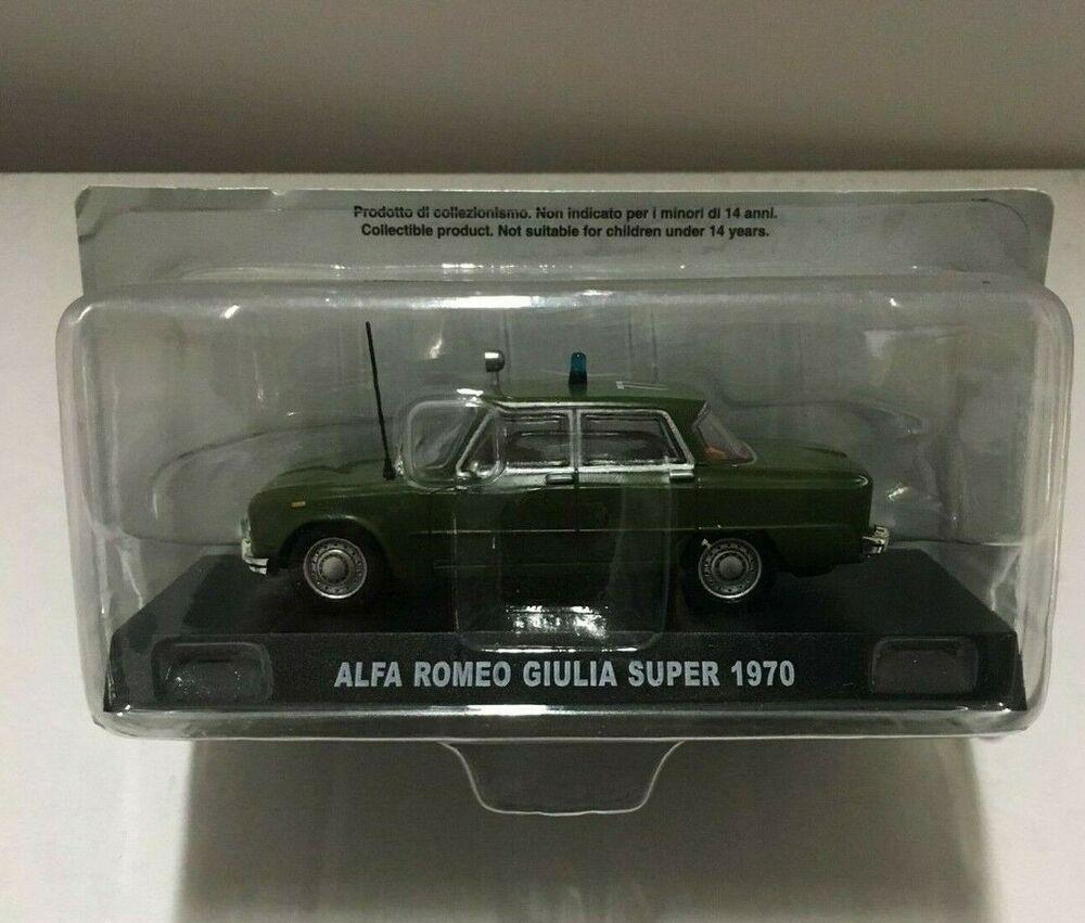 Voiture Miniature Alfa Romeo Giulia Super (1970) 1/43