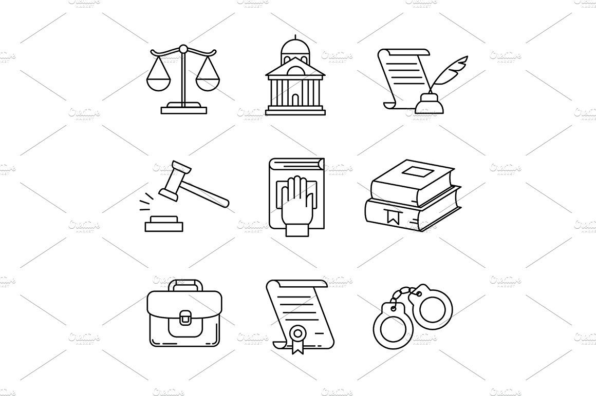Legal Law Lawyer And Court Simvoly Instagram Yuristy