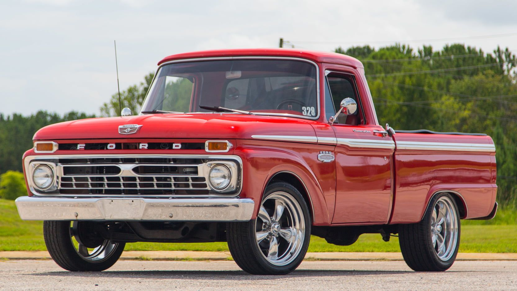 1966 Ford F100 Pickup Presented As Lot S30 1 At Dallas Tx Ford