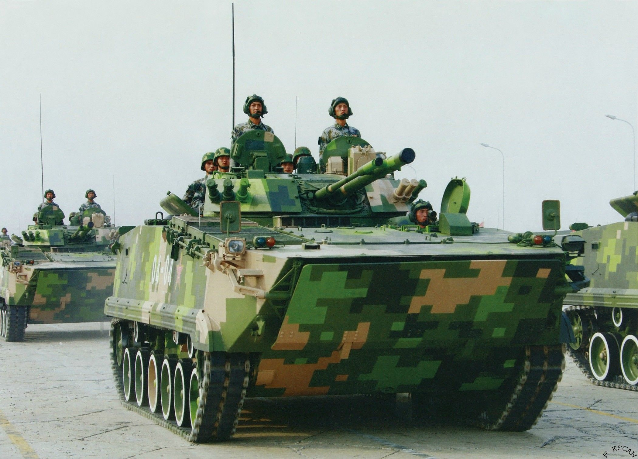 zbd 04 infantry fighting vehicle - HD 2100×1511