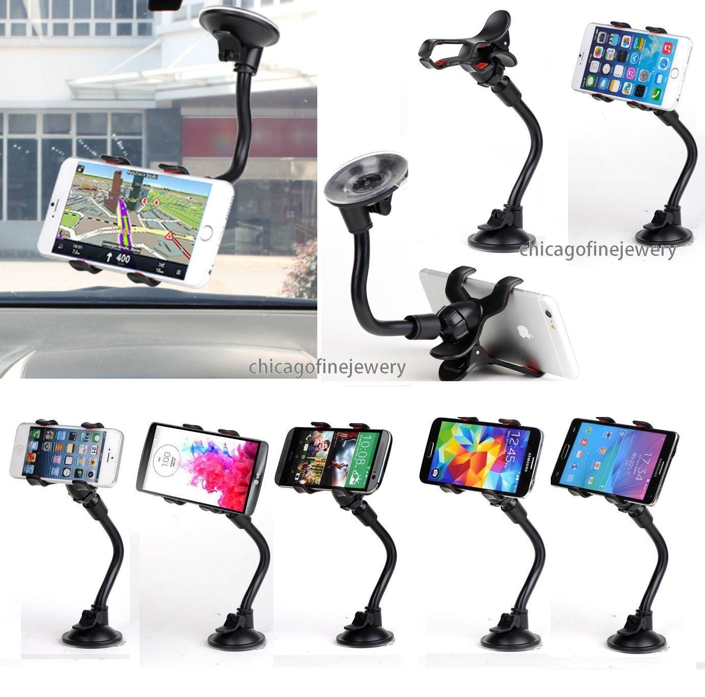 Universal Car Windshield Suction Cup Mount GPS Phone