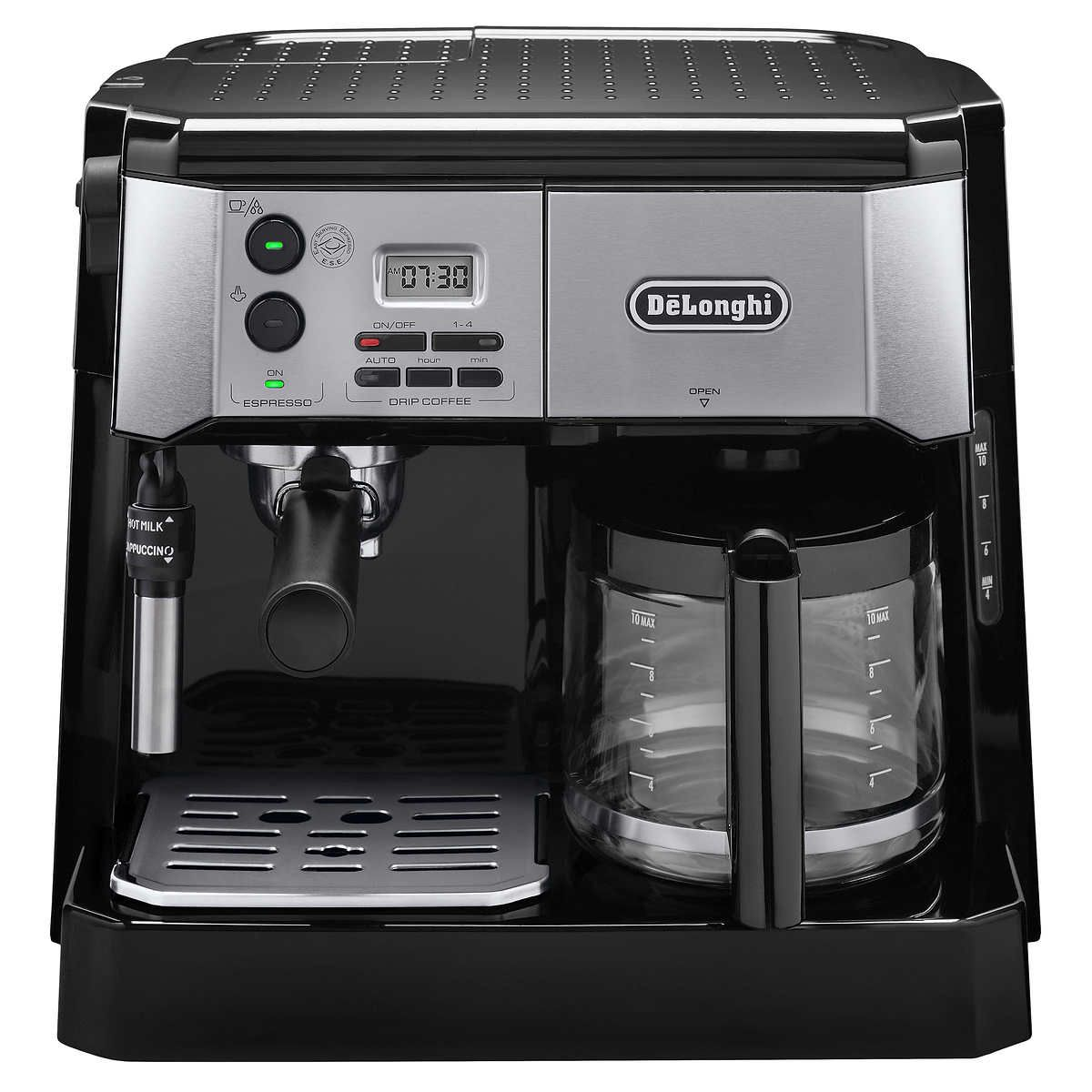 De'Longhi Combination Pump Espresso and 10cup Drip Coffee