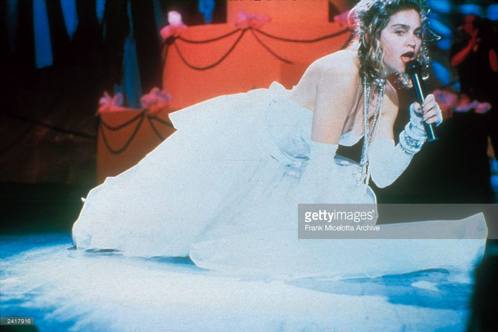 Madonna Performing On The 1984 Mtv Video Music Awards At Radio City