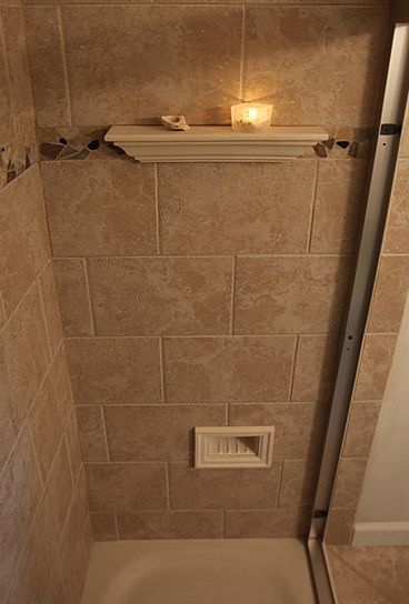 daltile cv 10 series tile with custom architectural niches and