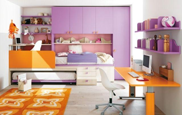 Bunte Kinderzimmermöbel fördern die Kreativität