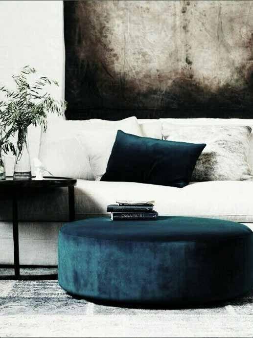 Blå sammet (PLAZA Interiör