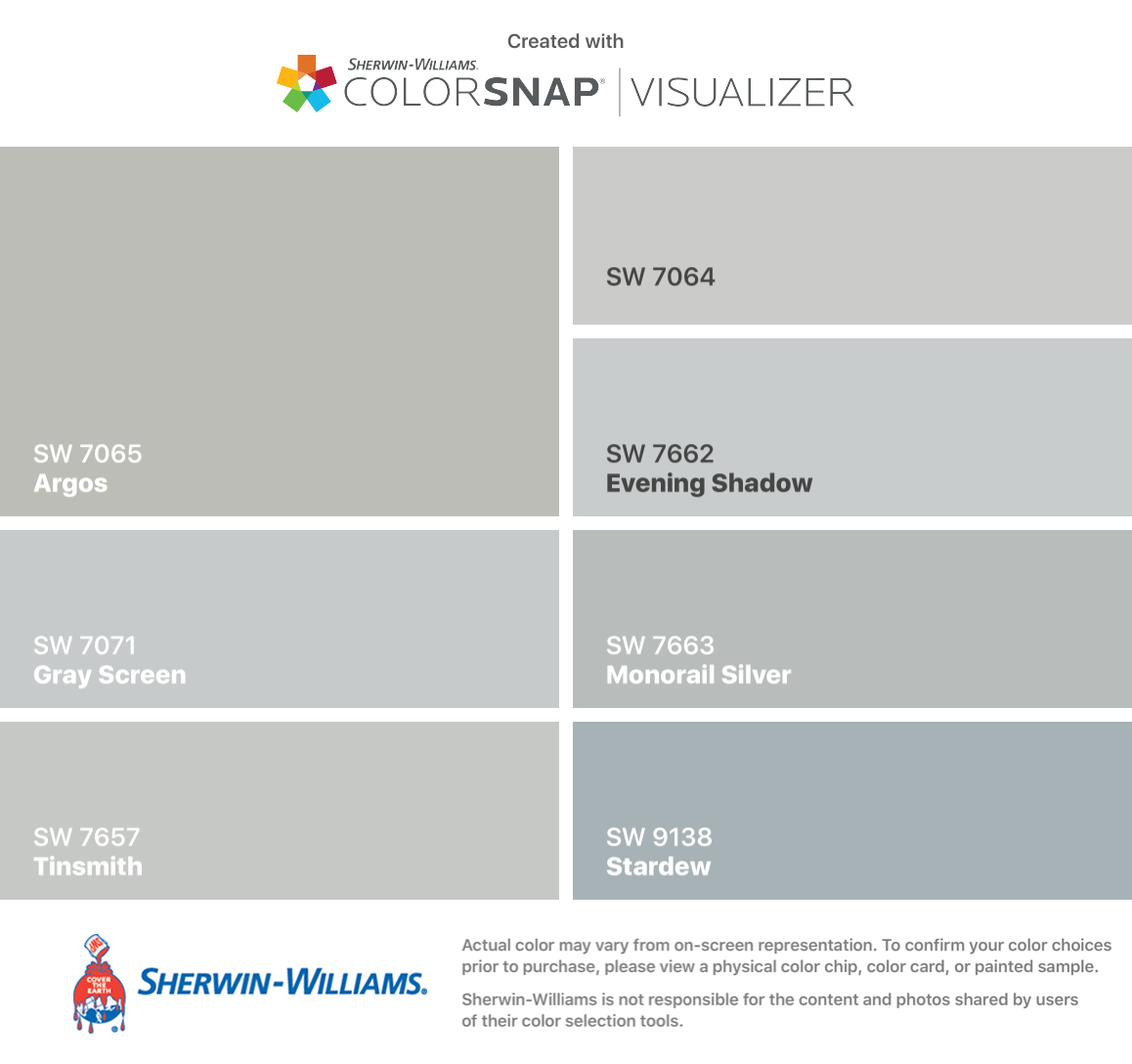 I Found These Colors With Colorsnap Visualizer For Iphone By Sherwin Williams Argo Sherwin Williams Paint Colors Sherman Williams Paint Sherwin William Paint