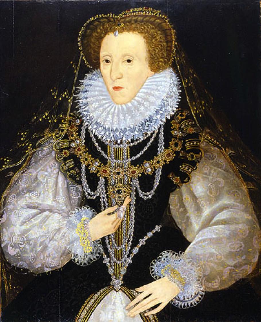 Queen Elizabeth In Attifet And Ruff 1585 1590 Renaissance Fashion Elizabethan Fashion Elizabeth I