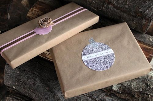 Turn your old holiday cards into this year's gift tags!