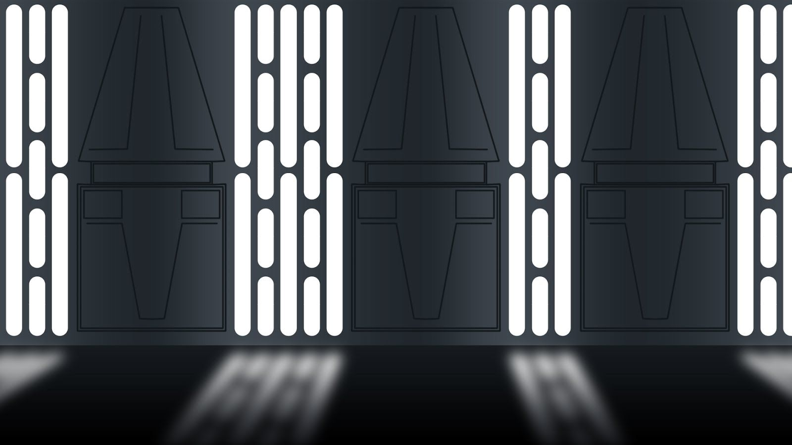 death star hallway star wars references for digital